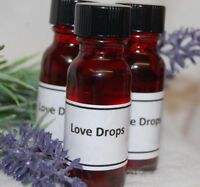 Love Drops Oil,  (1)  Passion, Lust, Desire, Santeria, Hoodoo, Wicca