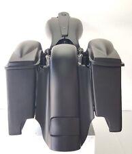"4"" Harley Davidson 6.5 #2 Lids Saddlebags/ Fender Dual Cutout  Replacement Flh"