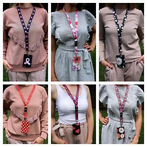 Fasten lanyard neck strap + Id badge holder (Set Lanyard + Badge holder) pvc