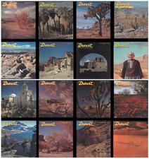 Desert Magazine All 534 Back Issues from 1937 - 1985 on a 2 Disc set  PLUS BONUS