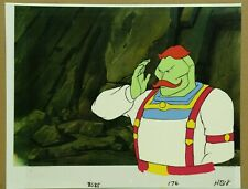 Bravestarr Original Hand Painted Animation Cel & Copied Background COA 31-42