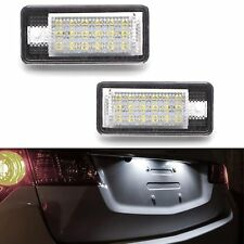ECLAIRAGE PLAQUE LED AUDI A3 8P1 8PA A6 C6 4F A8 4E 4H Q7 4L BLANC CANBUS