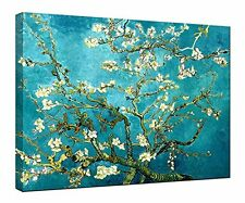 Canvas Print Almond Blossom Van Gogh Picture Painting Reproduction Art Framed