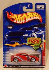 Hot Wheels 2002 Tuners Series Toyota Celica RED Race & Win Card