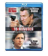 15 MINUTES (Robert De Niro, Edward Burns)  -Blu Ray - Sealed Region free