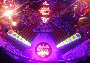 Johnny Mnemonic Pinball UV Flipper light Mod