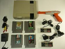 Nintendo Entertainment System Action Set NES Console Vintage Classic - TESTED -!