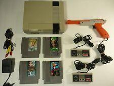 Nintendo Entertainment System Action Set NES Console Vintage Classic - TESTED -!