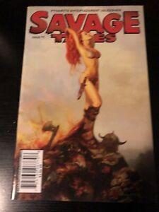 Savage Tales #1 Dynamite 2007 HTF Rare Marvel Low Print Conan Warlord Of Mars