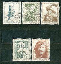 Nederland  671 - 675 gebruikt