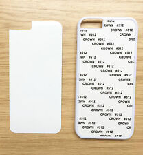 White Sublimation Case Cover for Apple iPhone 6  - Incl Insert Alum Panel
