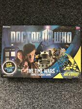 BBC Dr Doctor Who The Time Wars Family Board Game - Complete