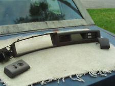 1997 1998 LINCOLN MARK VIII BROWN CENTER DASH COVER WITH SWITCHES AND END COVER