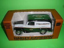 LIBERTY 1953 WILLYS JEEP PANEL TRUCK MAUSTON WI Harley Davidson 1:25 NEW MINT