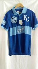 Bnwt Kansas City Royals Mlb Blue embroided polo shirt size M