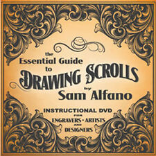 The Essential Guide to Drawing Scrolls for Engravers, Jewelers, Artists (DVD)