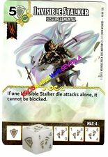 040 INVISIBLE STALKER Lesser Elem..-Common- BATTLE FOR FAERUN - D&D Dice Masters