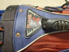 New listing Ping Hoofer Xtreme Dual Strap Stand Golf Bag red/ blue American flag rain cover