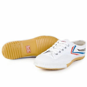 WHITE Warrior Martial Arts shoes SZ US L 8 all sports (Kung Fu/Tai Chi/Parkour)