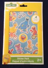 Sesame Street Sticker Pack -4 Sheets Of Stickers Included- Elmo, Big Bird & More