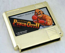 USED Nintendo FC Punch-Out!! Gold Cartridge JAPAN GOLF Tournament Winning Prizes
