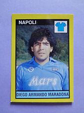 FIGURINA IL GRANDE CALCIO VALLARDI STICKERS MARADONA NAPOLI RARA 1988-89 NEW-FIO