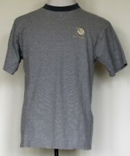 VTG Mackinac Island, Michigan Blue Houndstooth S/S T-Shirt L Made in USA