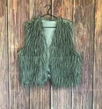 NWT Fashion Bug Faux Fur Vest Women's Size 1X