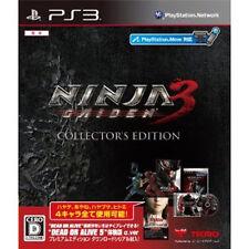 NINJA GAIDEN Playstation3 PS3 Import Japan  NINJA GAIDEN 3 Collectors edition