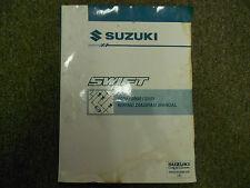 1999 2000 2001 SUZUKI Swift Wiring Diagram Shop Manual FACTORY OEM WATER DAMAGE