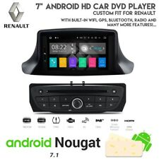 "7"" Android HD Navigation Bluetooth DVD USB Car Stereo For Renault Megane 08-16"