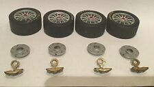 1/18 SCALE  1 SET OF C/C VE Holden V8 Supercar WHEELS