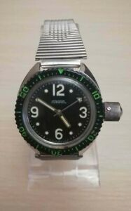 Rare 100 % ORIGINAL RAKETA Amphibian Military Diver Russian USSR Collectible