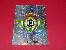 ESCUDO BADGE REAL BETIS FUTBOL PANINI LIGA 95-96 ESPANA 1995-1996 FOOTBALL