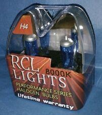 Cool Blue/White H4 9003 New Xenon Halogen HID Hi/Lo Beam Headlights Bulbs 8000K