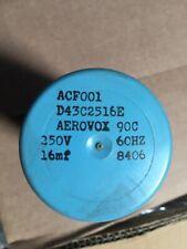 AEROVOX D43C2516E  Capacitor 16mf 250VAC   8406