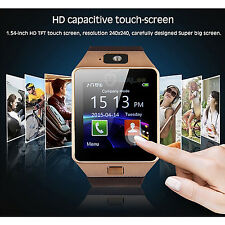 DZ09 Bluetooth Montre Watch MP3/4 Sports GSM SIM pour Android iPhone Samsung NEW