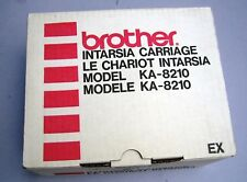 Brother Intarsia Carriage KA-8210