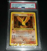 PSA 9 MINT Moltres 12/62 1ST EDITION Fossil Set HOLO RARE Pokemon Card