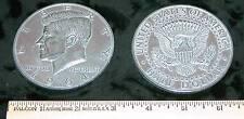 "REPLICA 1964 Kennedy Half Dollar BIG HUGE GIANT 3"" COIN REPLICA paperweight, etc"