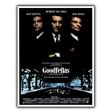 GOODFELLAS METAL SIGN WALL PLAQUE Film Movie Cinema Advert poster man cave print
