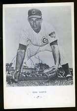 Ron Santo Vintage Jsa Certed Signed 3x5 Photo Authentic Autograph