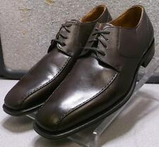 240742 PFi60 Men's Shoe Size 9 M Brown Leather Lace Up Johnston & Murphy