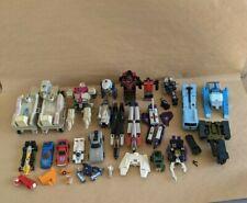 Transformers G1 Figure Lot Gobot Parts Repair Braun Metroplex Onslaught