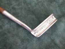 Antique wood shaft hickory Hendry & Bishop patented Per Whit putter