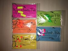 "5 Custom Hand Tied Three Hook Pier/Surf Fishing Rigs (""Rainbow Package"")"