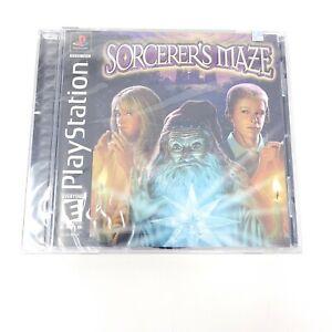 Sorcerer's Maze (Sony PlayStation 1, 2003) Brand New Sealed