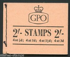 GREAT BRITAIN  STANLEY GIBBONS #N1 COMPLETE BOOKLET MINT NH