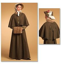 From UK Sewing Pattern Coat Period Historical Costume 14 - 20 #5265