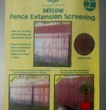 Garden Trend Willow Screening Fence Extension Edging